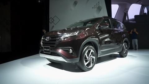 Danh gia nhanh Toyota Rush, doi thu truc tiep cua Mitsubishi Xpander hinh anh
