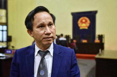 Luat su noi ve ban an danh cho Phan Van Vinh va dong pham hinh anh