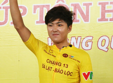 Cua-ro Han Quoc gianh Ao vang chung cuoc giai dua xe dap VTV Cup 2017 hinh anh