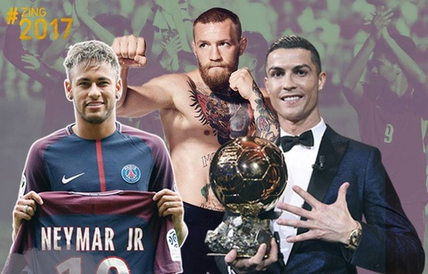 The thao the gioi 2017: Bom tan Neymar, CR7 va tran boxing bac ty hinh anh
