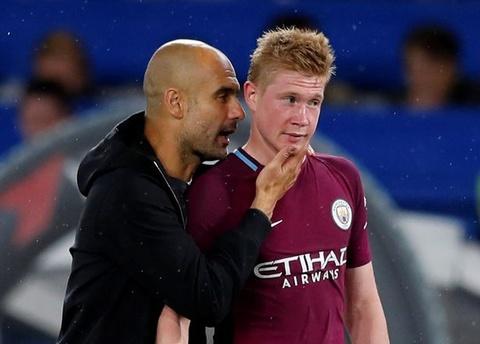 Pep Guardiola: 'Biet Man City se vo dich tu thang 9 nam ngoai' hinh anh
