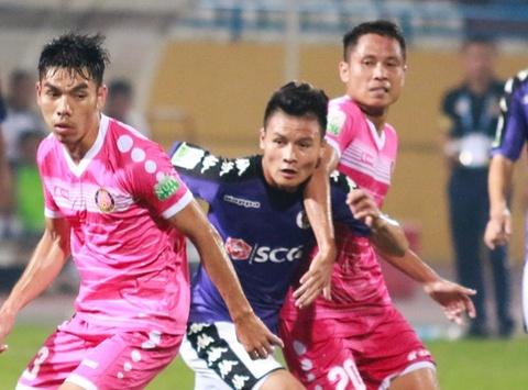 'V.League 2018 khong co bong dang doi yeu' hinh anh