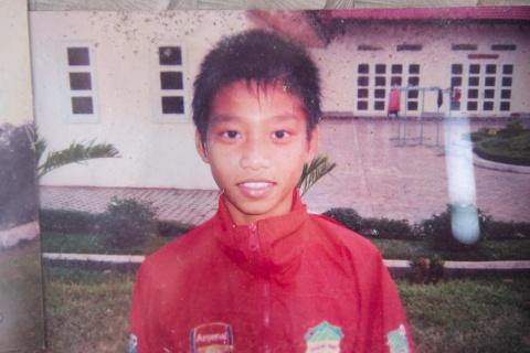 Vu Van Thanh - tu cau be nhut nhat den hau ve canh so 1 cua Olympic VN hinh anh