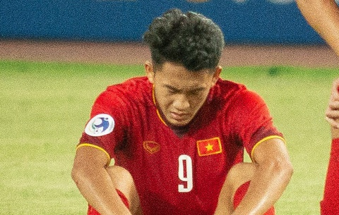 Cau thu U19 Viet Nam that vong sau khi thua Australia hinh anh