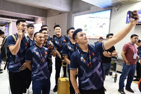 U22 Viet Nam toi Philippines, bat dau san vang SEA Games hinh anh
