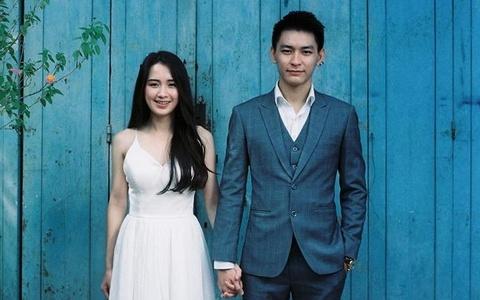 Hot girl Lao goc Viet hanh phuc ben chong dien trai hinh anh