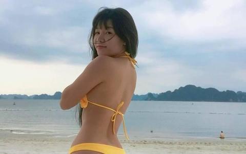 Yen Xuan dien bikini khoe voc dang nong bong hinh anh