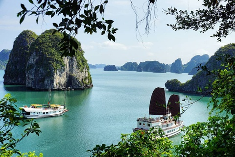 Kham pha vinh Ha Long qua anh check-in cua gioi tre he nam nay hinh anh 1