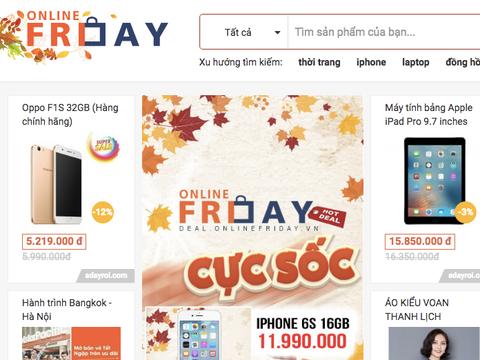 Online Friday nhan hang tram to cao khuyen mai ao hinh anh
