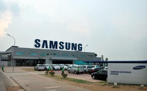 Sep Samsung xin co che cho cong nhan lam them gio hinh anh