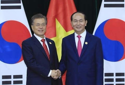 Tong thong Han Quoc sap tham chinh thuc Viet Nam hinh anh