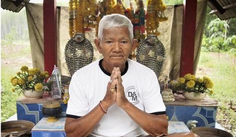 Ran ho mang Thai Lan: Vua duoc ton tho, vua la dac san hinh anh 1