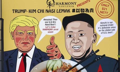 Nha hang Singapore tranh thu an theo thuong dinh Trump - Kim hinh anh 5