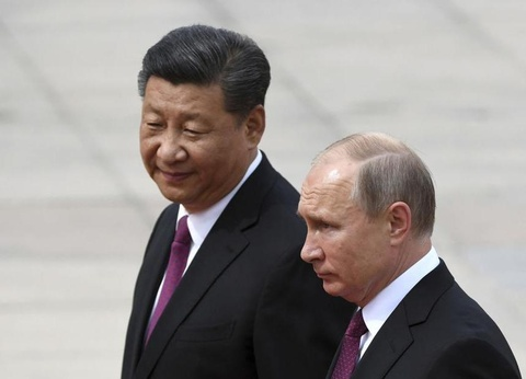 Putin den Trung Quoc, nhan huan chuong huu nghi tu ong Tap hinh anh