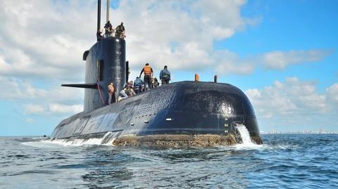 Tìm thấy tàu ngầm Argentina sau 1 năm mất tích cùng 44 thủy thủ