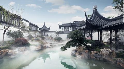 Xu huong chon nha truyen thong cua gioi sieu giau Trung Quoc hinh anh