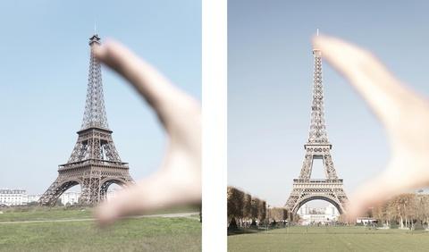 Chiem nguong Paris thu nho trong long Trung Quoc hinh anh
