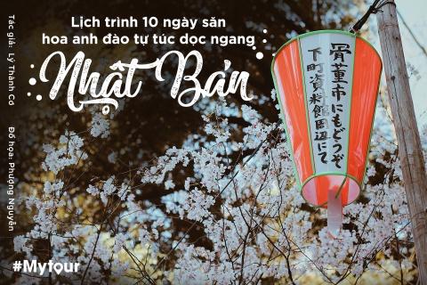#Mytour: Lich trinh 10 ngay san hoa anh dao tu tuc doc ngang Nhat Ban hinh anh 1