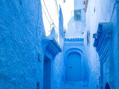 Thanh pho xanh o Morocco noi nhu con nho Instagram hinh anh 18