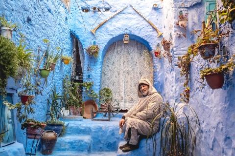 Thanh pho xanh o Morocco noi nhu con nho Instagram hinh anh 19
