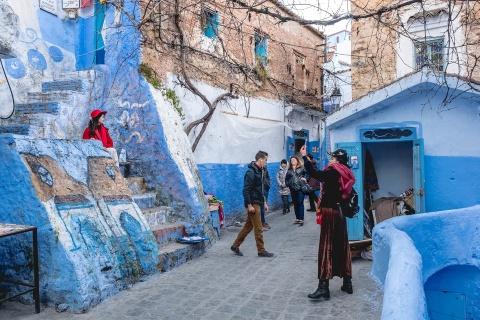 Thanh pho xanh o Morocco noi nhu con nho Instagram hinh anh 21