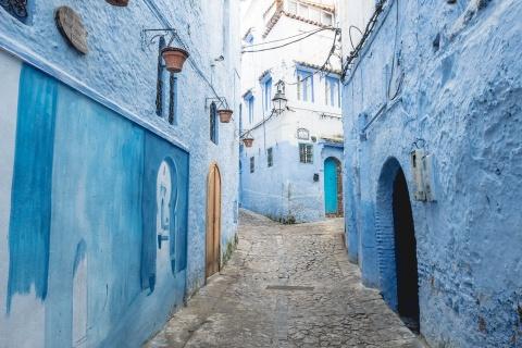 Thanh pho xanh o Morocco noi nhu con nho Instagram hinh anh