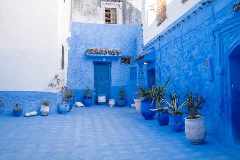 Thanh pho xanh o Morocco noi nhu con nho Instagram hinh anh 3