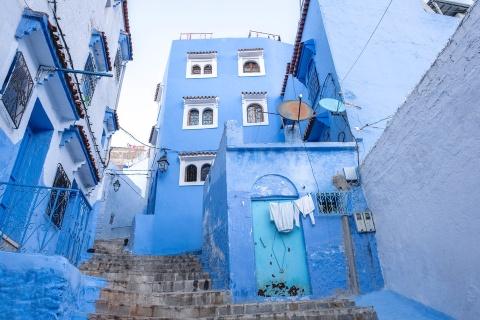 Thanh pho xanh o Morocco noi nhu con nho Instagram hinh anh 4
