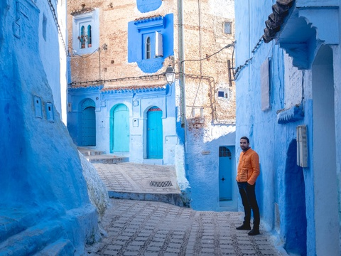 Thanh pho xanh o Morocco noi nhu con nho Instagram hinh anh 5