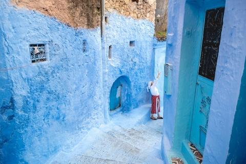 Thanh pho xanh o Morocco noi nhu con nho Instagram hinh anh 6