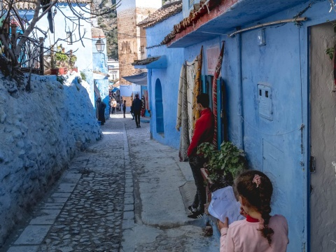 Thanh pho xanh o Morocco noi nhu con nho Instagram hinh anh 7