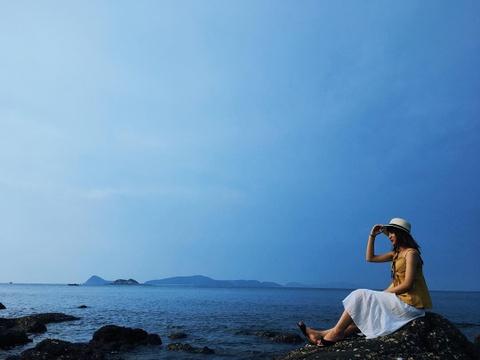Nghi le khong kip di xa, tranh nong ngay tai cac bai bien quanh Ha Noi hinh anh 1