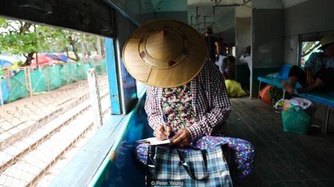 3 tieng nguoc thoi gian ngam thanh pho Yangon tren tau hoa hinh anh 1