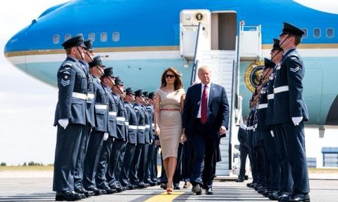 9 khoanh khac noi bat trong chuyen tham Anh cua ong Trump hinh anh 1