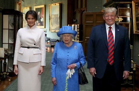9 khoanh khac noi bat trong chuyen tham Anh cua ong Trump hinh anh 8