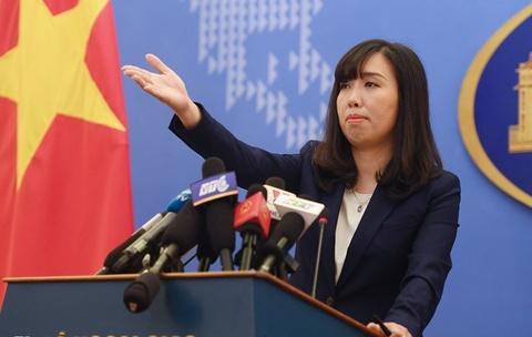 Bo Ngoai giao phan hoi thong tin VN mua 100 trieu USD vu khi tu My hinh anh