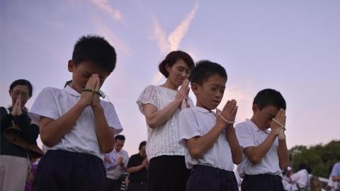 Hiroshima tuong niem 73 nam ngay qua bom nguyen tu 'Cau be' roi xuong hinh anh 9