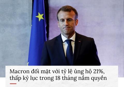 Paris tan hoang sau bao loan va con ac mong cua Macron hinh anh 6