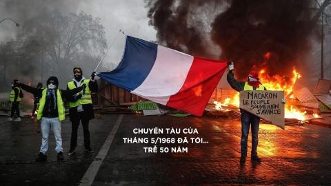 Paris tan hoang sau bao loan va con ac mong cua Macron hinh anh 11