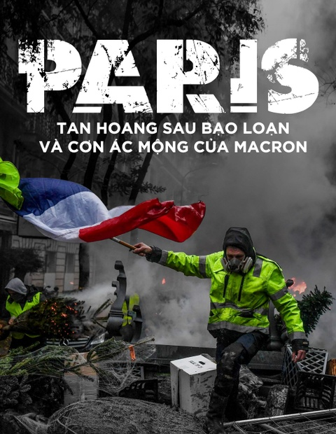 Paris tan hoang sau bao loan va con ac mong cua Macron hinh anh 1