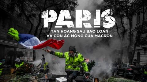 Paris tan hoang sau bao loan va con ac mong cua Macron hinh anh 2