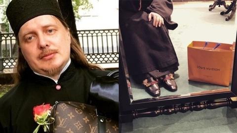Linh mục Nga bị điều tra vì khoe hàng hiệu trên mạng xã hội