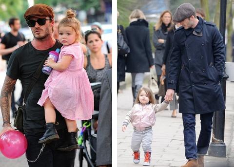 Harper Beckham - ban sao nhi cua me Vic nho gu thoi trang sanh dieu hinh anh 6