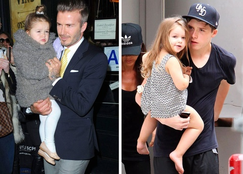 Harper Beckham - ban sao nhi cua me Vic nho gu thoi trang sanh dieu hinh anh 5