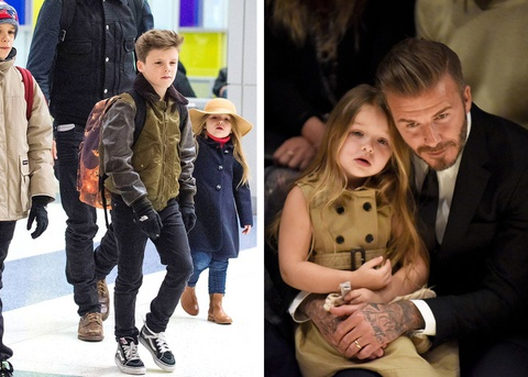 Harper Beckham - ban sao nhi cua me Vic nho gu thoi trang sanh dieu hinh anh 4