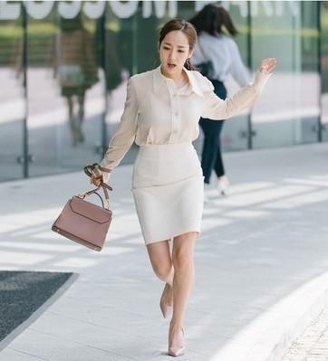 Thoi trang cua Park Min Young xuong cap sau khi dong vai Thu ky Kim? hinh anh 5