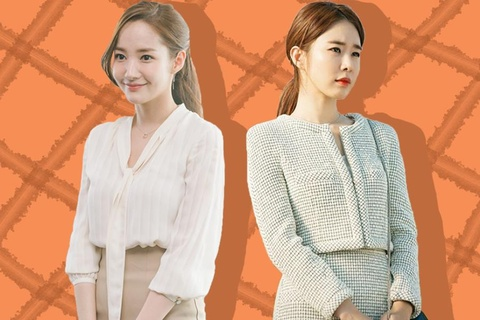 [K-Star]: Mix the office outfit as the 2 beautiful secretaries in Korean screen