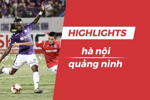 Highlights CLB Ha Noi thang CLB Quang Ninh, bat bai o luot di hinh anh