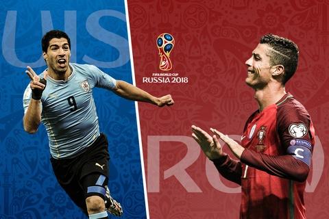 Ronaldo, Suarez thi nhau lap ky luc ghi ban o World Cup hinh anh