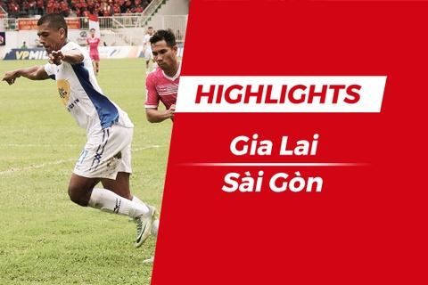 Highlights HAGL - CLB Sai Gon: Xuan Truong, Cong Phuong toa sang hinh anh